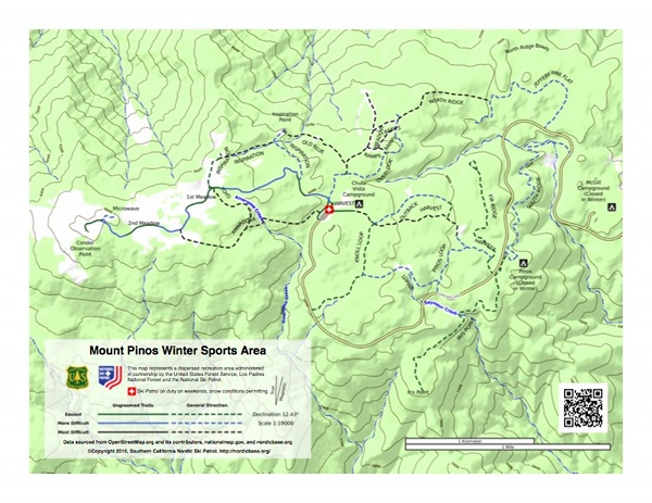 Mt. Pinos Trail Map